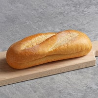 Amoroso's 7 inch Philadelphia Hearth-Baked Sliced Hoagie Roll - 60/Case