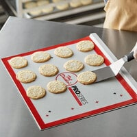 Fat Daddio's CSHD-1417 ProSeries 12-Gauge 17 inch x 14 inch Rimless Anodized Aluminum Cookie Sheet