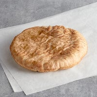 Father Sam's Bakery 8 inch Large Wheat Pita Pocket Bread - 24/Case
