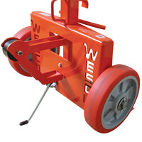Wesco Industrial Products 240016 1000 lb. Steel Drum Truck with (2) 10 inch Polyurethane Wheels - Knocked Down
