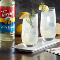 Torani 750 mL Zesty Lemon Flavoring Syrup