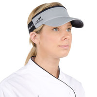 Headsweats Gray Customizable CoolMax Chef Visor