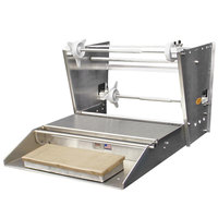 Heat Seal 800A Single 20 inch Roll Film Roller Mounted Countertop Wrapping Machine - 725W, 115V