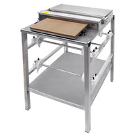 "Heat Seal 107A Triple 18"" Roll Film Floor Wrapping Machine with Splash Guard - 725W, 115V"