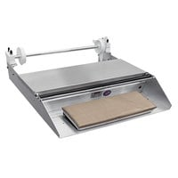 "Heat Seal 625A Single 18"" Roll Film Axle Mounted Countertop Wrapping Machine - 748W, 115V"