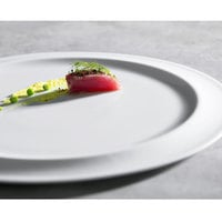 Corona by GET Enterprises PA1101982524 Gotas 10 inch Bright White Porcelain Plate - 24/Case