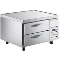 Beverage-Air WTRCS36HC 36 inch 2 Drawer Refrigerated Chef Base