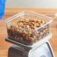 Fabri-Kal S6-32 Alur On-The-Go Clear PET Container - 300/Case