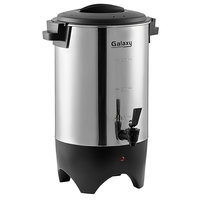 Galaxy 46 Cup (230 oz.) Stainless Steel Single Wall Coffee Urn - 120V, 1000W