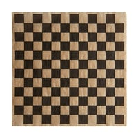 Choice 12 inch x 12 inch Kraft Black Check Deli Sandwich Wrap Paper - 5000/Case