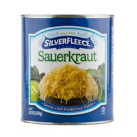SilverFleece #10 Can Shredded Sauerkraut - 6/Case