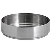Front of the House DSD074BSS23 Soho 3 oz. Brushed Stainless Steel Round Ramekin - 12/Case