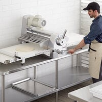 Estella DSC78 78 inch Countertop Reversible Dough Sheeter - 120V, 3/4 hp