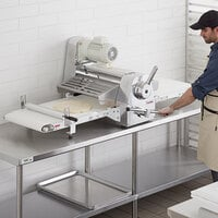 Estella DSC67 67 inch Countertop Reversible Dough Sheeter - 120V, 3/4 hp