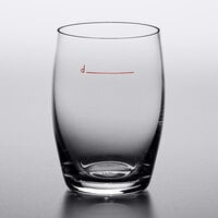 Stolzle 3480042T Declared 8.5 oz. Stemless Red Wine Glass with Pour Line - 24/Case