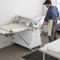 Estella DSF94 94 inch Floor Model Reversible Dough Sheeter - 120V, 1 hp