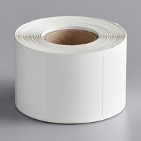 PointPlus 2 5/16 inch x 1 5/8 inch White Blank Permanent Direct Thermal Label   - 700/Roll