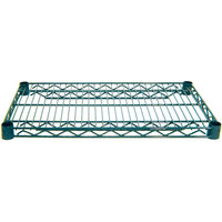Advance Tabco EG-1472 14 inch x 72 inch NSF Green Epoxy Coated Wire Shelf