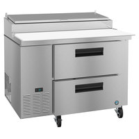 Hoshizaki PR46A-D2 46 inch 2 Drawer Refrigerated Pizza Prep Table
