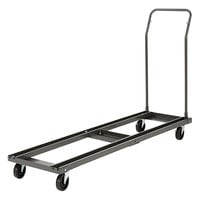 Alera ALEFTCART Black Chair and Table Cart