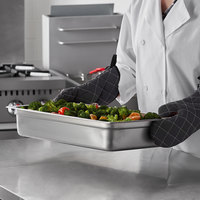 Carlisle 607004 DuraPan Full Size 4 inch Deep Anti-Jam Stainless Steel Steam Table / Hotel Pan - 24 Gauge