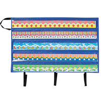 Carson Dellosa CD5652 Border Storage Pocket Chart