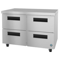 Hoshizaki UF48A-D4 48 inch Undercounter Freezer with 4 Drawers