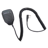 Kenwood KMC-21 External Black Speaker Microphone for TK Series Two-Way Radios