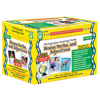 Carson Dellosa D44045 Nouns / Verbs / Adjectives Photographic Learning Cards Boxed Set