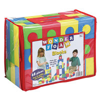 Wonder Foam 4380 Assorted Color Blocks