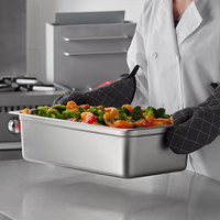 Carlisle 608006 DuraPan Full Size 6 inch Deep Anti-Jam Stainless Steel Steam Table / Hotel Pan - 22 Gauge