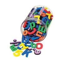 Wonder Foam 4357 Magnetic Alphabet Letters and Numbers - 105/Pack