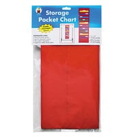 Carson Dellosa CD5653 Red Storage Pocket Chart