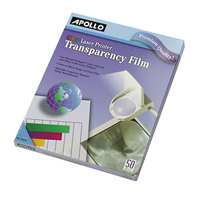 Apollo CG7070 Color Laser Transparency Film - 50/Box