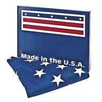 Advantus MBE002460 U.S.A. Flag - 3' x 5' Heavy Weight Nylon All-Weather Outdoor