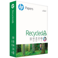 Hewlett-Packard 112100 8 1/2 inch x 11 inch White Case of 20# Recycled Copy Paper