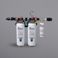 3M Water Filtration Products DP260 High Flow Series Multi-Equipment Water Filtration System - 0.2 Micron Rating and 6.68 GPM
