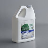Seventh Generation 44814 Professional Free & Clear 1 Gallon Neutral Floor Cleaner Concentrate - 2/Case