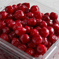 5 lb. IQF Pitted Tart Red Cherries - 2/Case