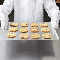 Vollrath 68085 Wear-Ever NSF 10 Gauge 14 inch x 17 inch Rimless Aluminum Cookie Sheet