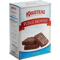 Krusteaz Professional 7 lb. Fudge Brownie Mix - 6/Case