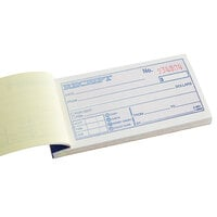 Adams DC2501 2 3/4 inch x 5 3/8 inch 2-Part Carbonless Money and Rent Receipt Book