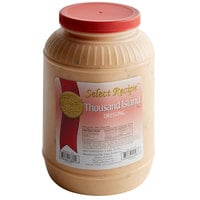 AAK Select Recipe 1 Gallon Thousand Island Dressing - 4/Case