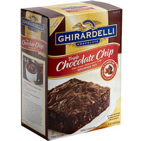 Ghirardelli 7.5 lb. Triple Chocolate Chip Brownie Mix