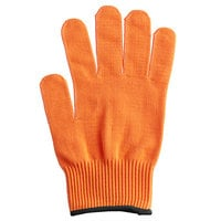 Mercer Culinary M33415OR1X Millennia® Orange A4 Level Cut-Resistant Glove - Extra Large