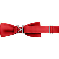 Henry Segal Red 1 1/2 inch Wide Adjustable Band Poly-Satin Bow Tie