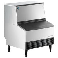 Hoshizaki KM-301BWJ 30 inch Water Cooled Undercounter Crescent Cube Ice Machine with 100 lb. Bin - 115V, 285 lb.