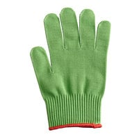 Mercer Culinary M33415GRS Millennia® Green A4 Level Cut-Resistant Glove - Small