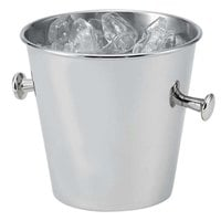 Vollrath 46621 1.6 Qt. Mirror-Finished Stainless Steel Ice Bucket
