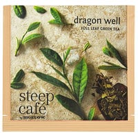 Steep Cafe By Bigelow Dragon Well Green Tea Pyramid Sachets - 50/Case